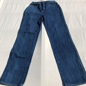 True Vintage Sasson Wide Straight Leg Jeans